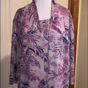 💥Alfred Dunner Plus Size 3X Long Sleeve
